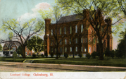 Lombard Old Main postcard
